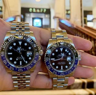 Rolex GMT-Master II Oystersteel 126710BLNR & discontinued 116710BLNR