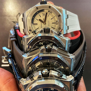 A collection of Audemars Piguet Divers' Watches