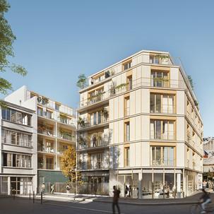 Logements - rue Ramey (75018) - 2017