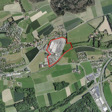 Étude urbaine - Avry, Fribourg (CH) - 2017