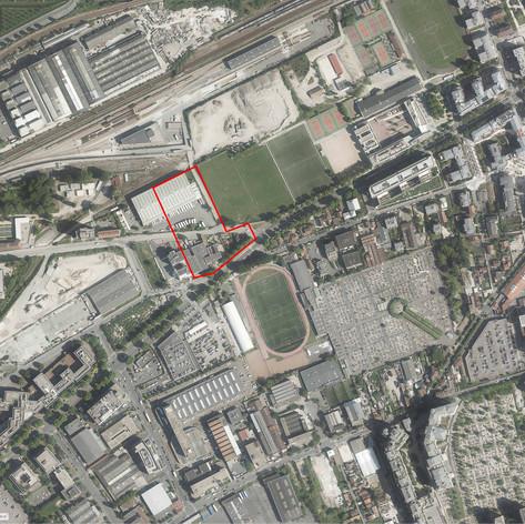 Étude urbaine et architecurale - Les Groues, Nanterre (92) - 2019