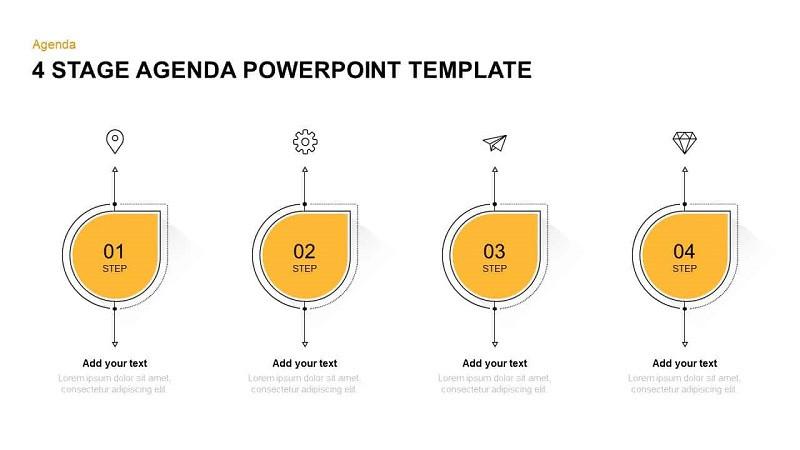 Business Agenda Powerpoint Templates