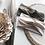 olive and ivory headbands
