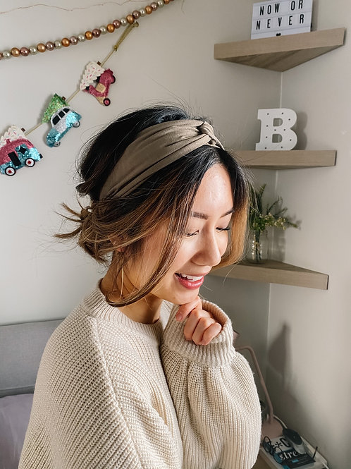 Knotted Bamboo Headband