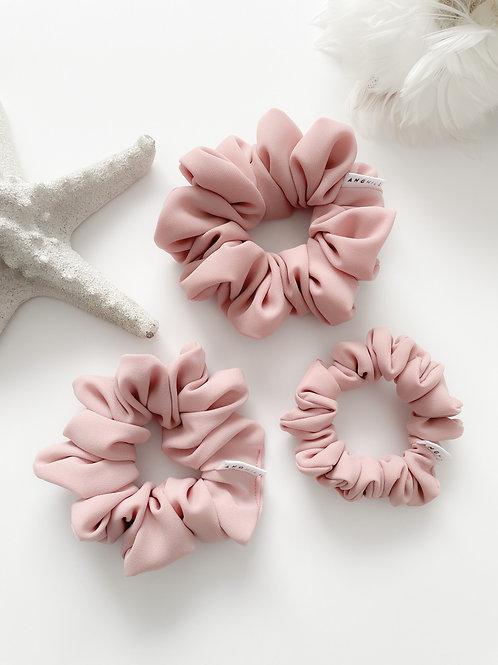 Love Scrunchies in Blush