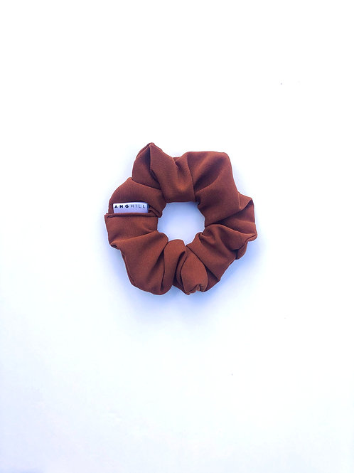 Zoomed out copper Love Scrunchie Ang Hill