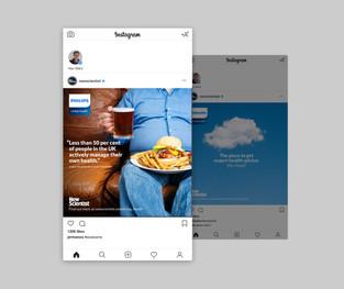 NS Philips social media