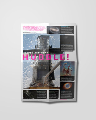 NS Hubble poster