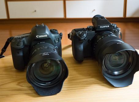 中判デジタルカメラ導入。