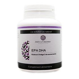 EPA DHA riche en Oméga 3 - Ambre d'Automne