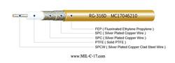M17/152-RG316D Low PIM RG-316D Cable