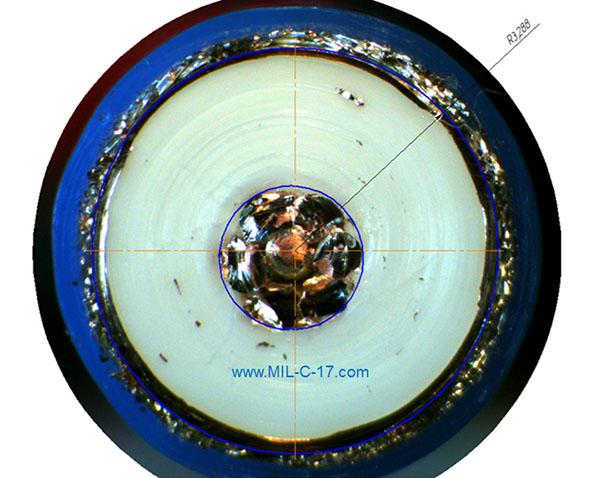 Ultra Low Loss Microwave Cable