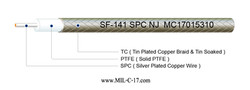 Low PIM SF-141 SPC Semi-Flexible