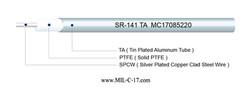 SR-141 TA Semi-Rigid Coaxial Cable