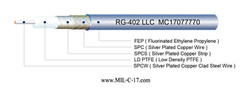 RG-402SS LLC Microwave Coaxial Cable