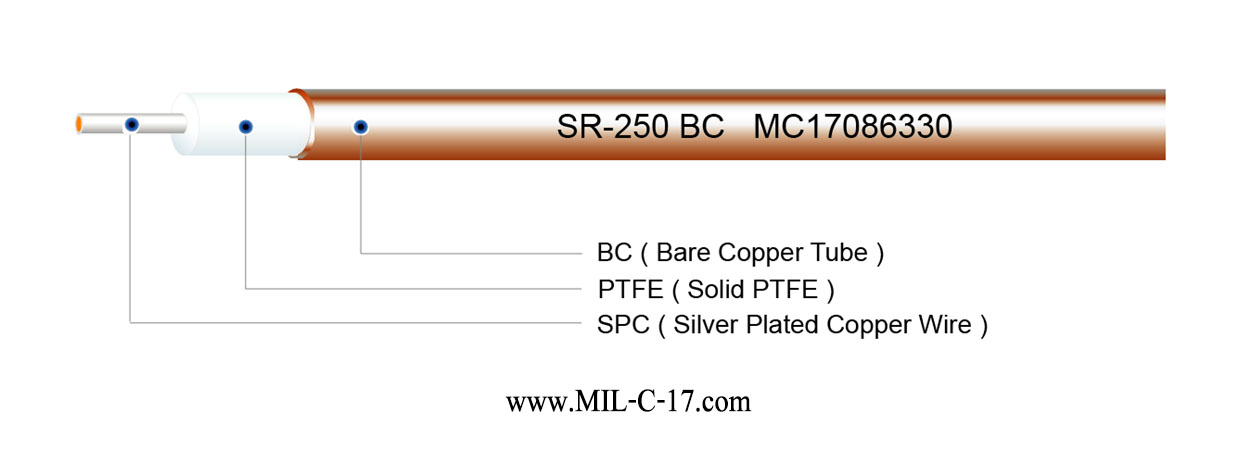 SR-250 BC Semi-Rigid Cable