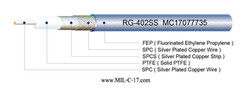 RG-402SS SPC Microwave Coaxial Cable