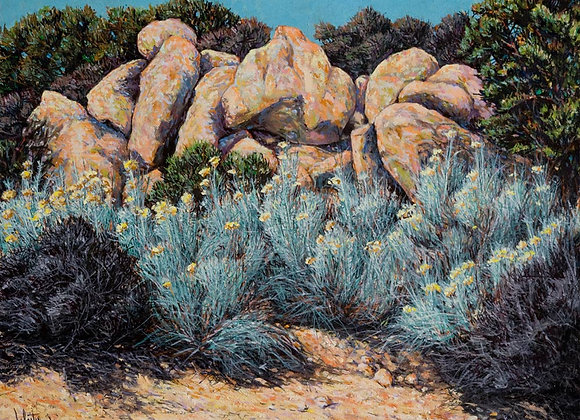 Foothill Menhirs, No. 24 :: 101 Views of The Sandias