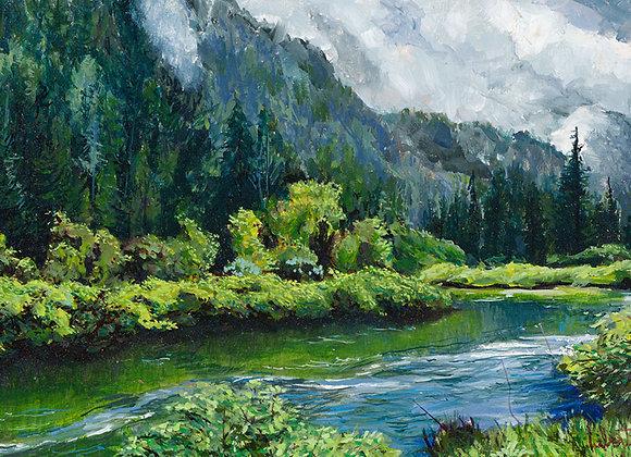 Blue River, Northwest Coast - B.C., Canada