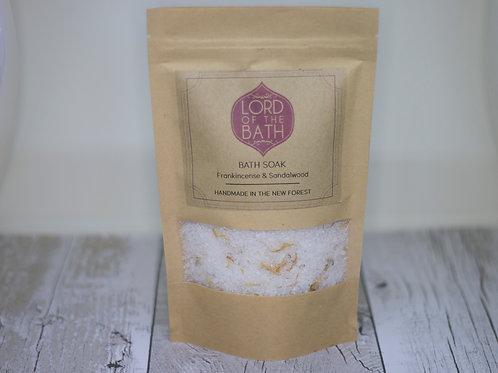 Frankincense & Sandalwood Bath Salts