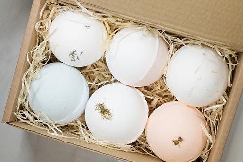 Bath bomb gift box