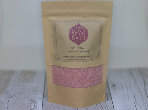 Satsuma & Grapefruit Bath Salts
