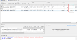 UPDATE STATISTICS eating up TempDB User Space