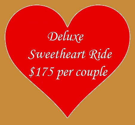 Deluxe Sweetheart Ride for 2