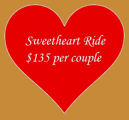 Sweetheart Ride for 2