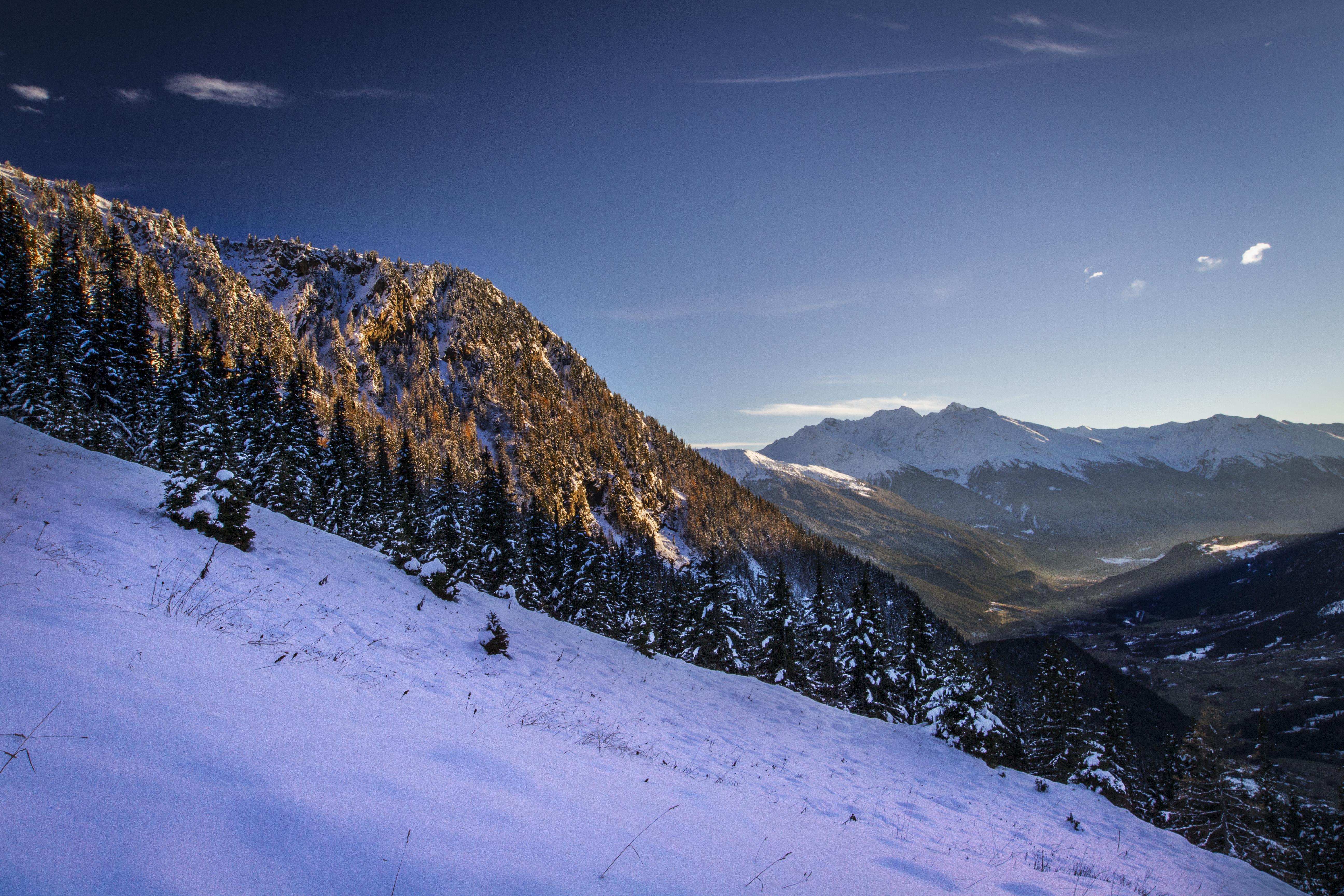 Vue sur la Haute Maurienne