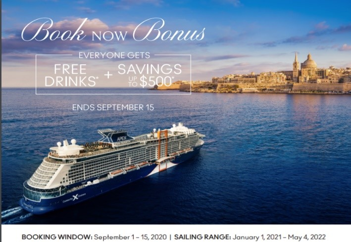 Celebrity Cruise Offers September