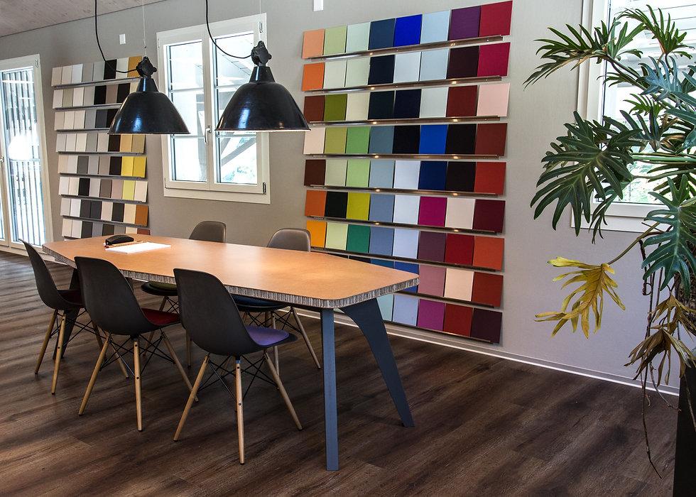 Büroeinrichtung Büro Bürotisch Farbkonzepte