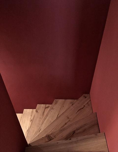 Treppe Farbkonzept