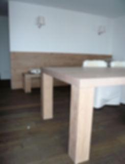 Esstisch Sitzbank