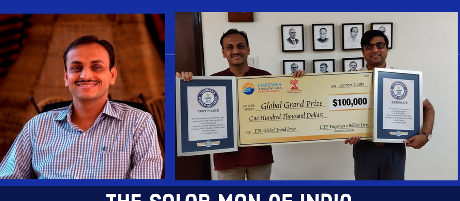Fayaz Ahmed's Interview with Chetan Singh Solanki, The Solar Man of India
