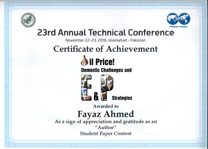 23rd Annual Technical Conference 2016