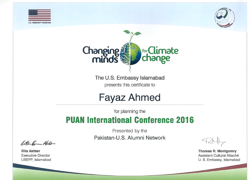 PUAN International Climate Change Conference