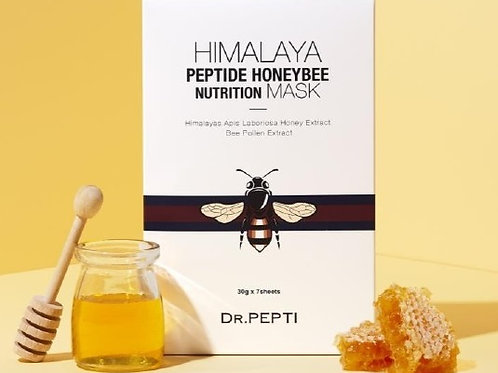 Маски тканевые Himalaya Peptide Honeybee  Nutrition  Mask, пачка 7 шт.