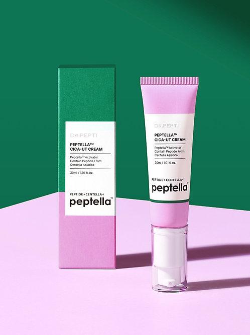 Увлажняющий крем-активатор Peptella Cica-ut Cream, 30 мл.