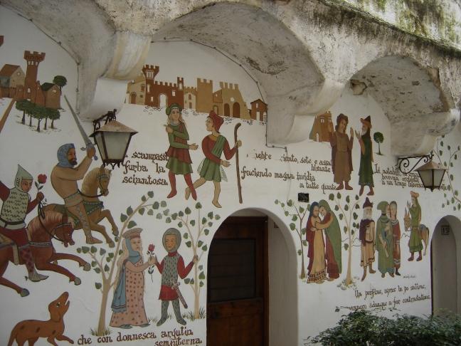 murales tra i vicoli