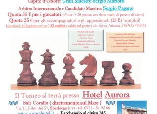 Torneo di scacchi all'Hotel Aurora
