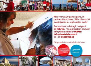 Workshop vacanza di Acquarello a Sperlonga