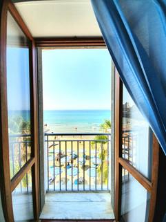 Marina's French balcony