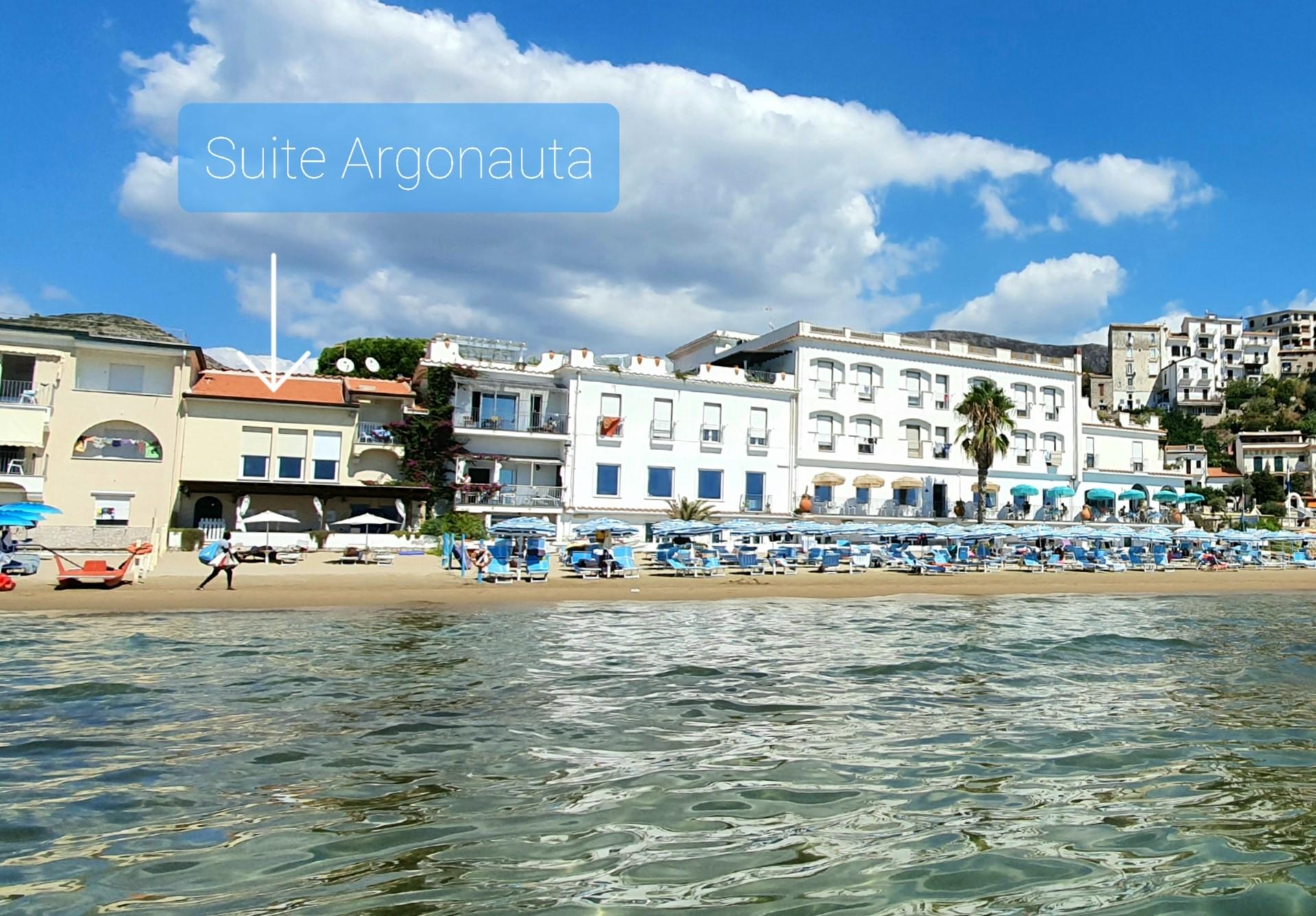 Argonauta-Vista dal mare