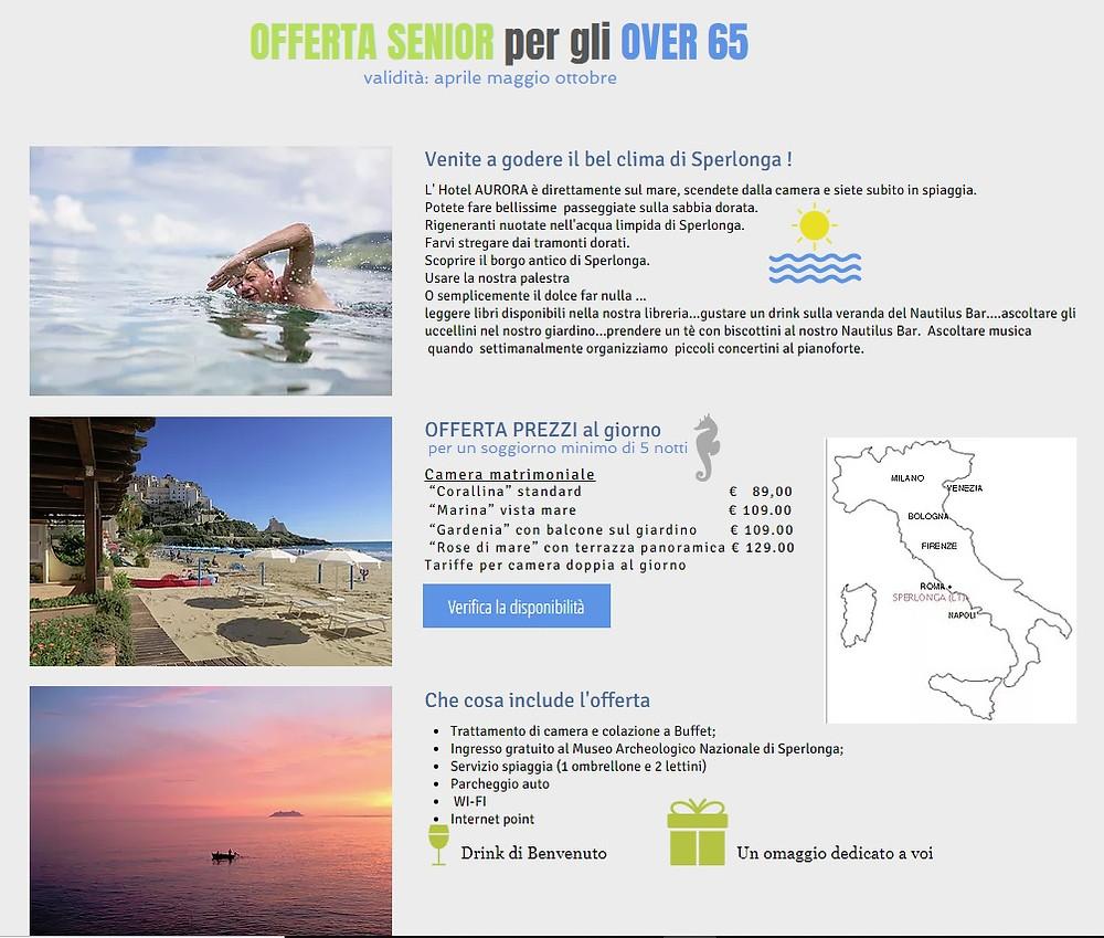 Offerta Senior 2018 - Senior offer 2018