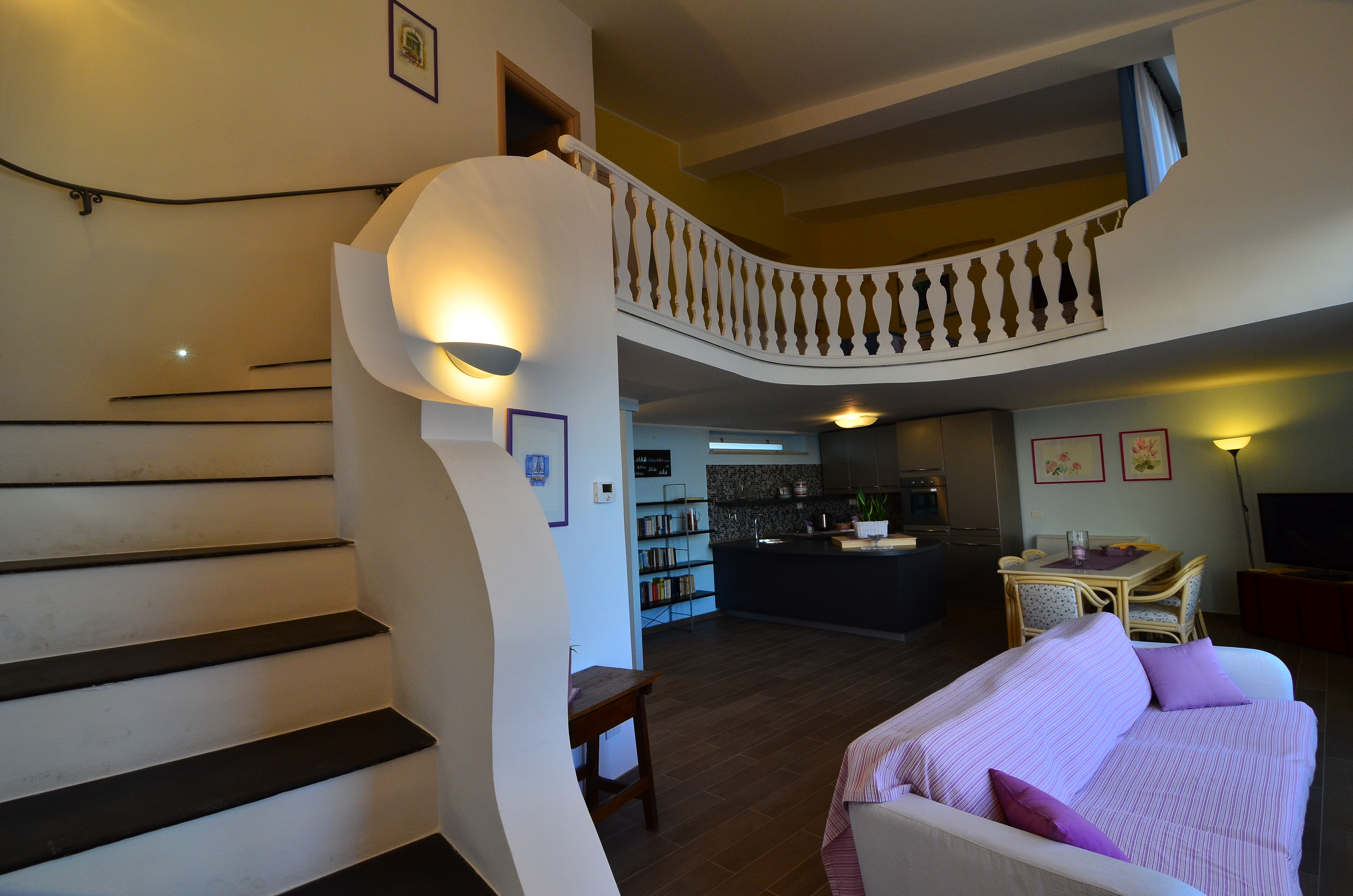 scala per la camera superiore