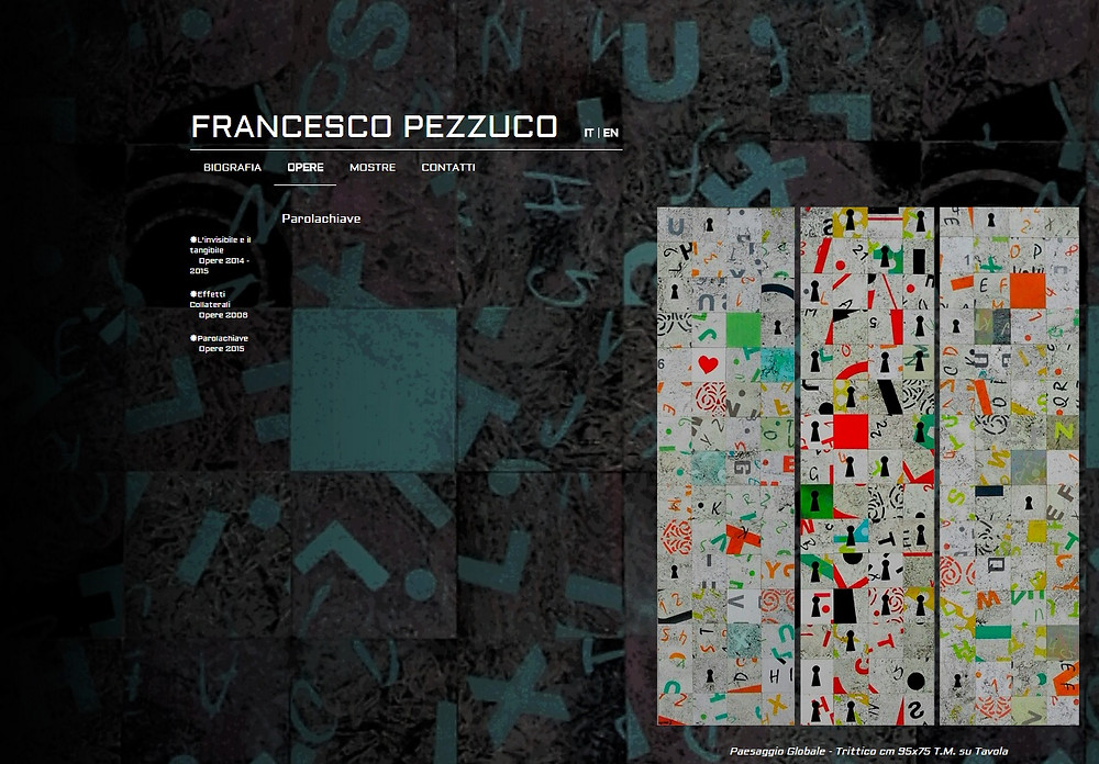 Artista in esposizione permanente presso l'Hotel Aurora www.francescopezzuco.it