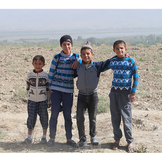 Local Tajiki Children