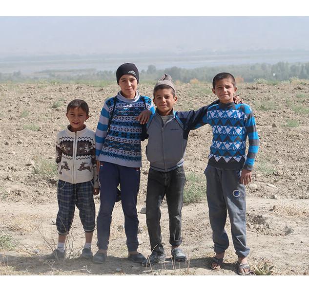 Local Tajiki Children