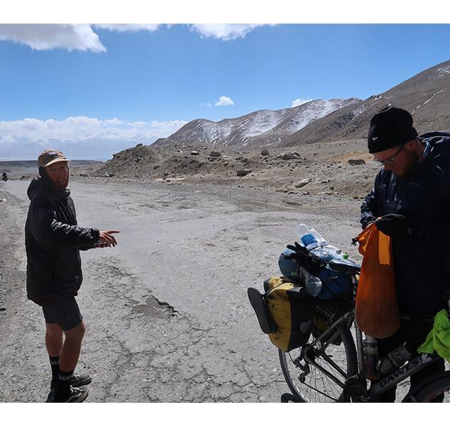 The Top of the AK Baital Pass - 4,700m ASL